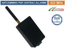 SENSORE ANTI JAMMER ANTI JAMMING ANTI OSCURAMENTO ANTIFURTO  ALLARME 433 MHz