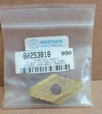 New Listingmadison Cutting Tools Duodex Spade Indexable Inserts 1812 T15 Hss Cvd Coat