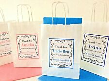 Personalised Wedding Christening Single Gift Bag - with tissue paper
