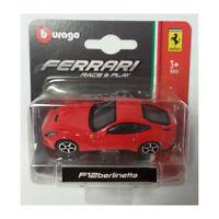 Bburago 56000 Ferrari F12 Berlinetta rot Maßstab 1:64 Modellauto NEU!  °