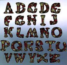 Your Custom word, text in Aboriginal Font vinyl cut sticker at 1500 x 470 mm Car