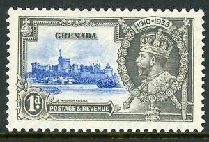 British 1935 KGV Silver Jubilee Grenada 1d Scott # 125 Mint C449