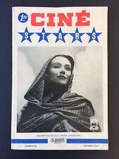 ►CINE STARS N°10 - 1947 - DOLORES DEL RIO ( MARIA CANDELARIA )