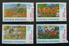 Indonesia Children's Day Scout Jamboree 1984 Painting Scouting (stamp) MNH