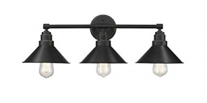 Odeums Bathroom Vanity Lights, 3-Lights Industrial Indoor Wall Mount Lights, for