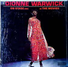 DIONNE WARWICK - ON STAGE AND IN THE MOVIES - SCEPTER LP -