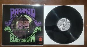 BLACK SABBATH - PARANOID LP Vinyl special club edition Unofficial Dio