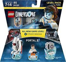 LEGO Dimensions 71203 Portal 2 Level Pack - Chell Sentry Turret Companion Cube