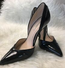 Zara Basic Collection Womens Black Stiletto High Heel Size 37   B3