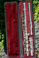 YAMAHA YFL 311 FLUTE, SOLID SILVER HEAD/FLAUTO TRAVERSO,TESTATA ARGENTO MASSIC