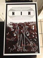 "Nine Inch Nails 17""x26"" poster print"