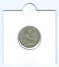 BRD  50 Pfennig  sehr schön (Wählen Sie unter: 1950-1995 mit allen Prägestätten)