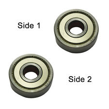 Superior Electric SE 627ZZ-D Replacement Ball Bearing - 2 x Shield, (2pcs/pk)