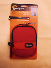Lowepro Spectrum 10 RED Compact Digital Camera Pouch Case Bag NEW