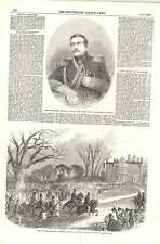 1856 Prince Albert VISITE Colchester Gen mouravieff CARCERIERE di Kars