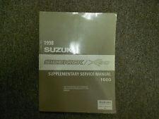 1998 Suzuki Sidekick 1600 Supplementary Service Shop Manual FACTORY OEM NEW