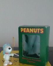 Vintage Peanuts Snoopy Nativity Ceramic Christmas Figurine Willitts 1989 Rare!!