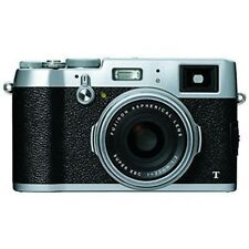 USED Fujifilm X100T 16 MP Digital with 2.8-Inch Silver Excellent FREE SHIPPING