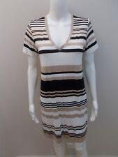 MELA PURDIE STRIPE STRETCH TUNIC/DRESS SIZE 10- NEAR NEW (#G387)