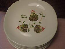 "W.S. George Bolero GEO587 Plates 8""  (7) Vintage"