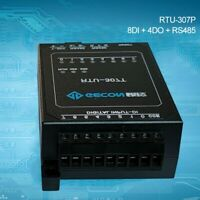 Industrial Controller 4 Relay Output 8 Switch Input For Modbus RTU RTU-307P