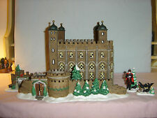 Dept 56 Tower Of London - Dickens Village Historical Landmark Series-5pc set