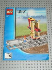 Notice Building instruction booklet N°5 LEGO CITY TRAIN set 3677 Red Cargo Train