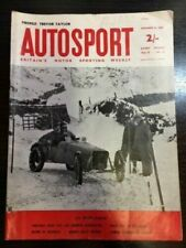 Autosport December 21st 1962 *Lotus 23 Track Test & Bernd Rosemeyer Profile*