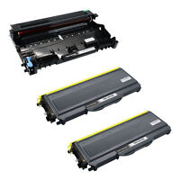 2PK TN360 Toner Cartridge & DR360 Drum Black Set Compatible For Brother HL-2170W