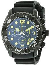 Bulova Sea King Rubber Chonograph Mens Watch 98B243