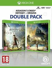 Double Pack ASSASSINS Creed Odyssey + Assassin's Origins XBOX ONE PAL ESPAÑA  VE