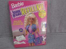 NEW Barbie Fashion Designer Refill Kit Mattle SEALED 1996