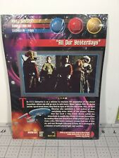 """""""All Our Yesterdays"""" Newfield Publications STAR TREK UNIVERSE Binder SEALED"""