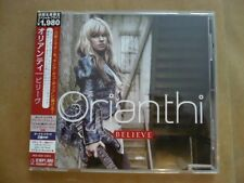 Believe by Orianthi (2010 Japan edition w obi +2 bonus tracks) VG