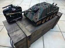 Torro 1/16 RC German Jagdpanther BB Tank Camo 2.4GHz Metal Edition Wooden Box