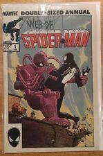 Web of Spider-Man Annual #1 VF 8.0 DOUBLE-SIZED ANNUAL ANN NOCENTI