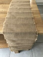 6 Hessian Table Runners Rustic Vintage Country Wedding