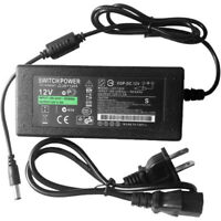 12V 5A 60W Power Supply AC To DC Adapter For 5050 3528 Flexible LED Strip Light