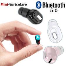 Mini Auricolare J22 Bluetooth Vers. 5.0 senza fili Cuffie Wireless con Microfono