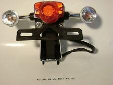 Rücklicht mit 2 x Blinker inkl Glühbirnen ZNEN Motorroller Retro Scooter Roller