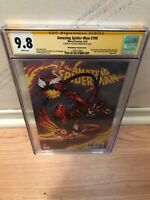 RARE AMAZING SPIDER-MAN #799 MCGUINNESS VARIANT CGC 9.8 SIGNED BY MCGUINNESS!'