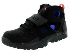 New Youth Nike Trainer Huarache (GS) 705254 003 Black/Grey/Purple Sz 6.5Y
