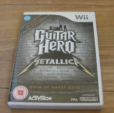 GUITAR HERO: metallica (Nintendo Wii, 2009) - versione Europea