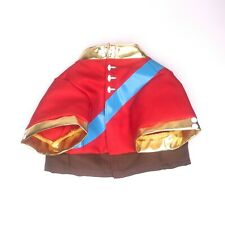 Build A Bear My Little Pony Shining Armor Jacket BAB Clothes Outfit Gold Red