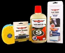 Bowden's Own Clay Towel Pack Auto Body Gel Muffy Sponge Medium Outdoor Meguiars