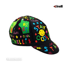 """NEW Official Cinelli SAMMY BINKOW """"STAY COOL"""" Cycling Cap - Made in Italy!"""