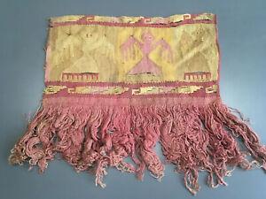 Ancient Pre Columbian Textile Nazca Chancay Chimu #42