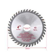 4inch 40T Cemented Carbide Circular Saw Blades Bore Dia 20mm Wood Cutting Tool