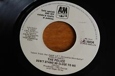 "The Police / 7"" Italy JUKEBOX PROMO / Don't Stand So Close / Barbara Streisand"
