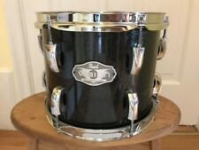 Pearl Vision VSX Black Sparkle 10x8 tom without ISS Mount